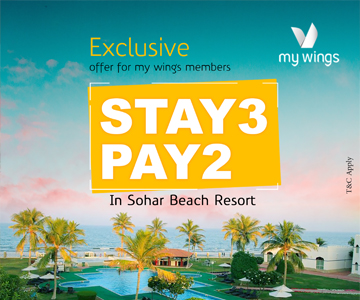 Pay for 2 Nights and Stay for 3 Nights
