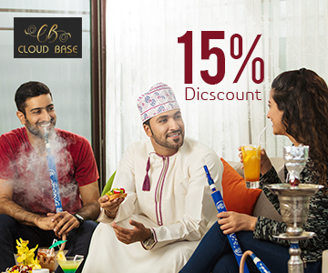 15 Percentage F and B discount at Cloud Base Rooftop Restaurant