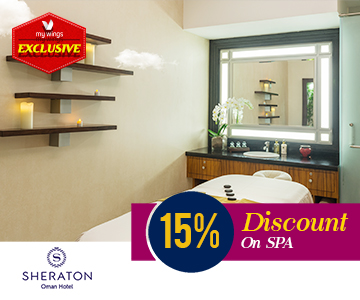 15 percentage discount on Spa